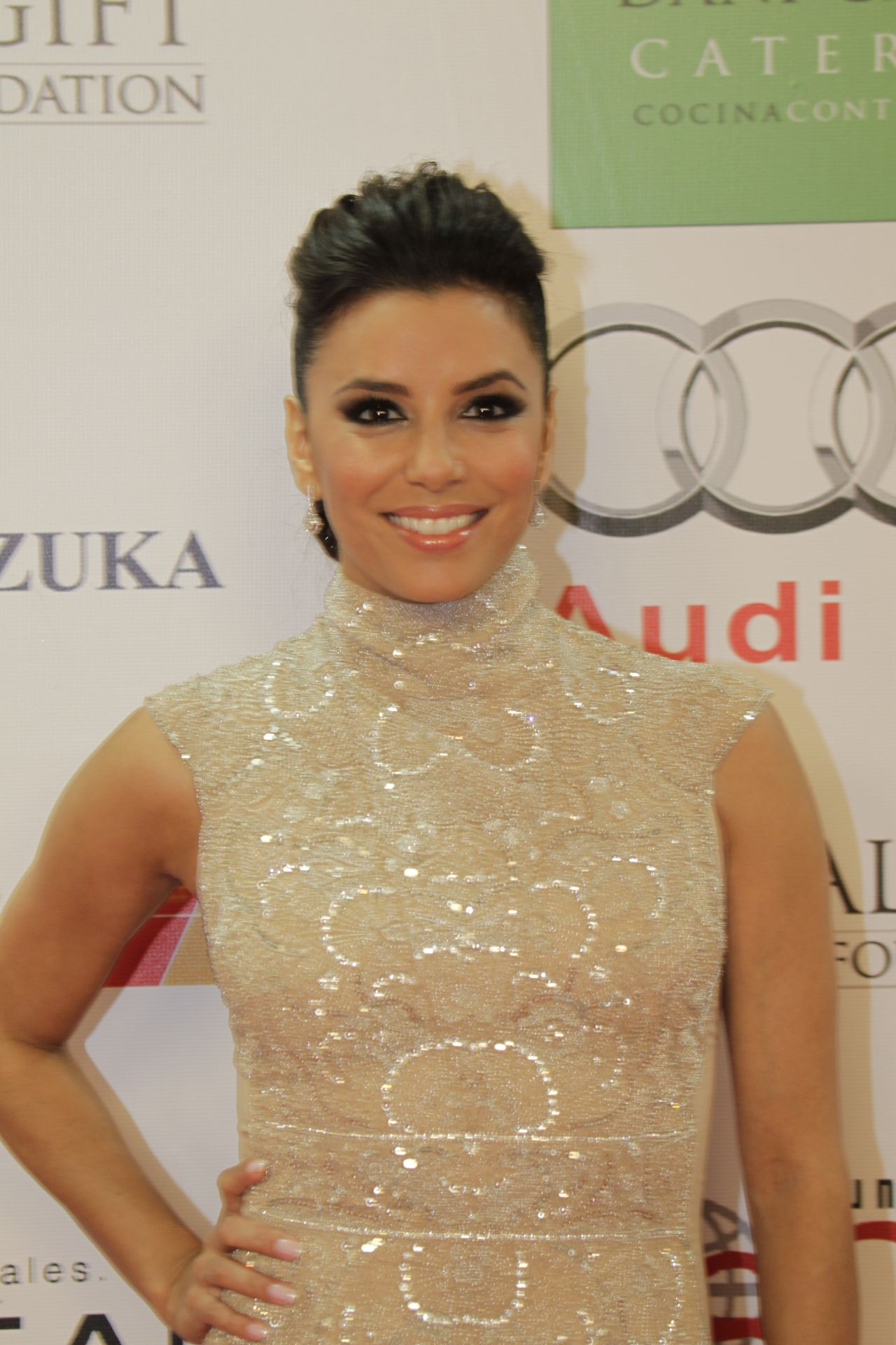 Eva Longoria Red Carpet Photos - Hosted the Global Gift Gala in Marbella for Charity