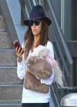 Eva Longoria Street Style - Lax Arrival Candids in Los Angeles
