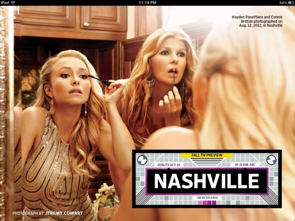 hayden panettiere nashville promo [lots of various adds]