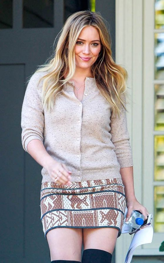 Hilary Duff  Photos, Beverly Hills October 2013
