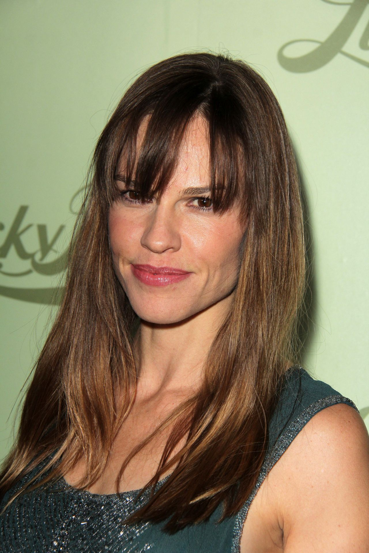 Hilary Swank at Lucky Brand Store Opening in Beverly Hills