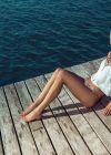 Isabeli Fontana in Bikini - Morena Rosa Beach - Summer 2014