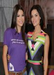 Jaimie Alexander On The Set Of Univisions Despierta America in Miami