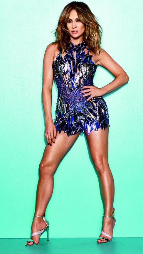 Jennifer Lopez - Leggy, Cosmo for Latinas Winter 2013 Issue