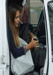 Jessica Alba - Set of HOW TO MAKE LOVE LIKE AN ENGLISHMAN Movie