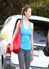 Jessica Biel Spotted Shooting Scenes for Her Latest Movie in Los Angeles