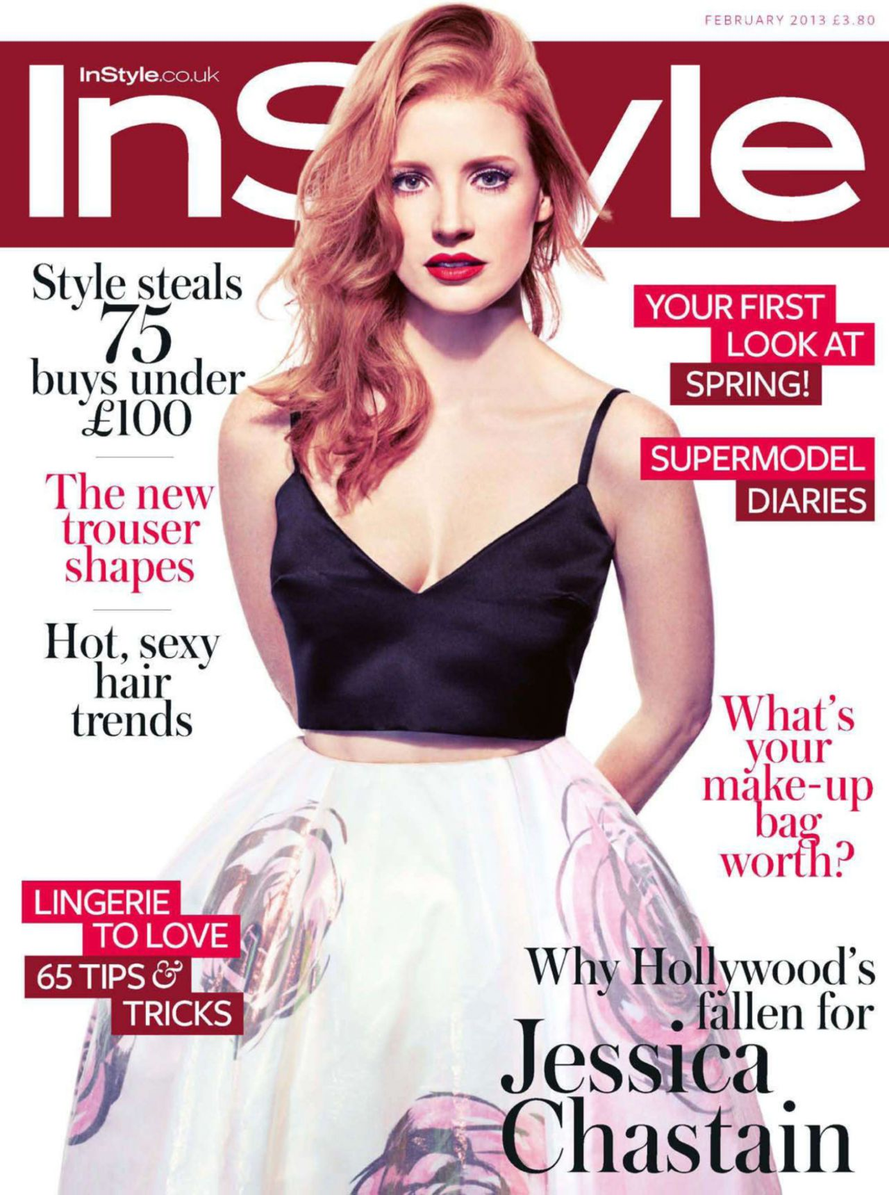 Instyle Magazine Us: InStyle UK February 2013 Issue