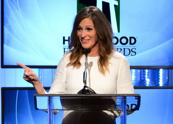 Julia Roberts at 17th Annual Hollywood Film Awards