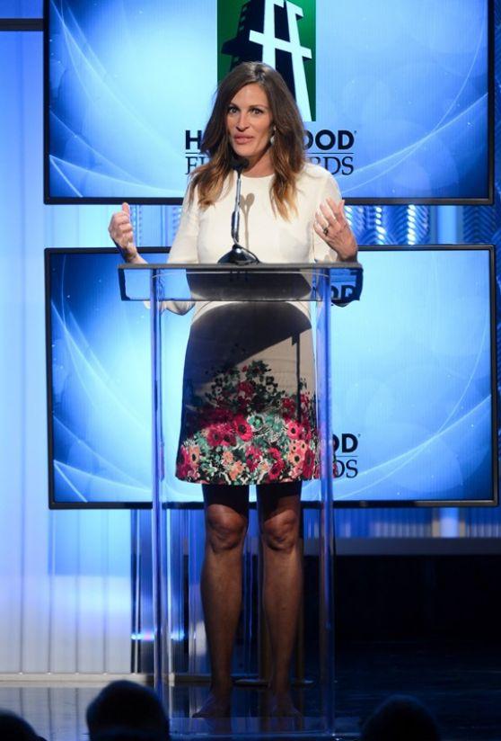Julia Roberts at 17th Annual Hollywood Film Awards