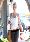 Julianne Hough Street Style - Leaving the Gym in Los Angeles