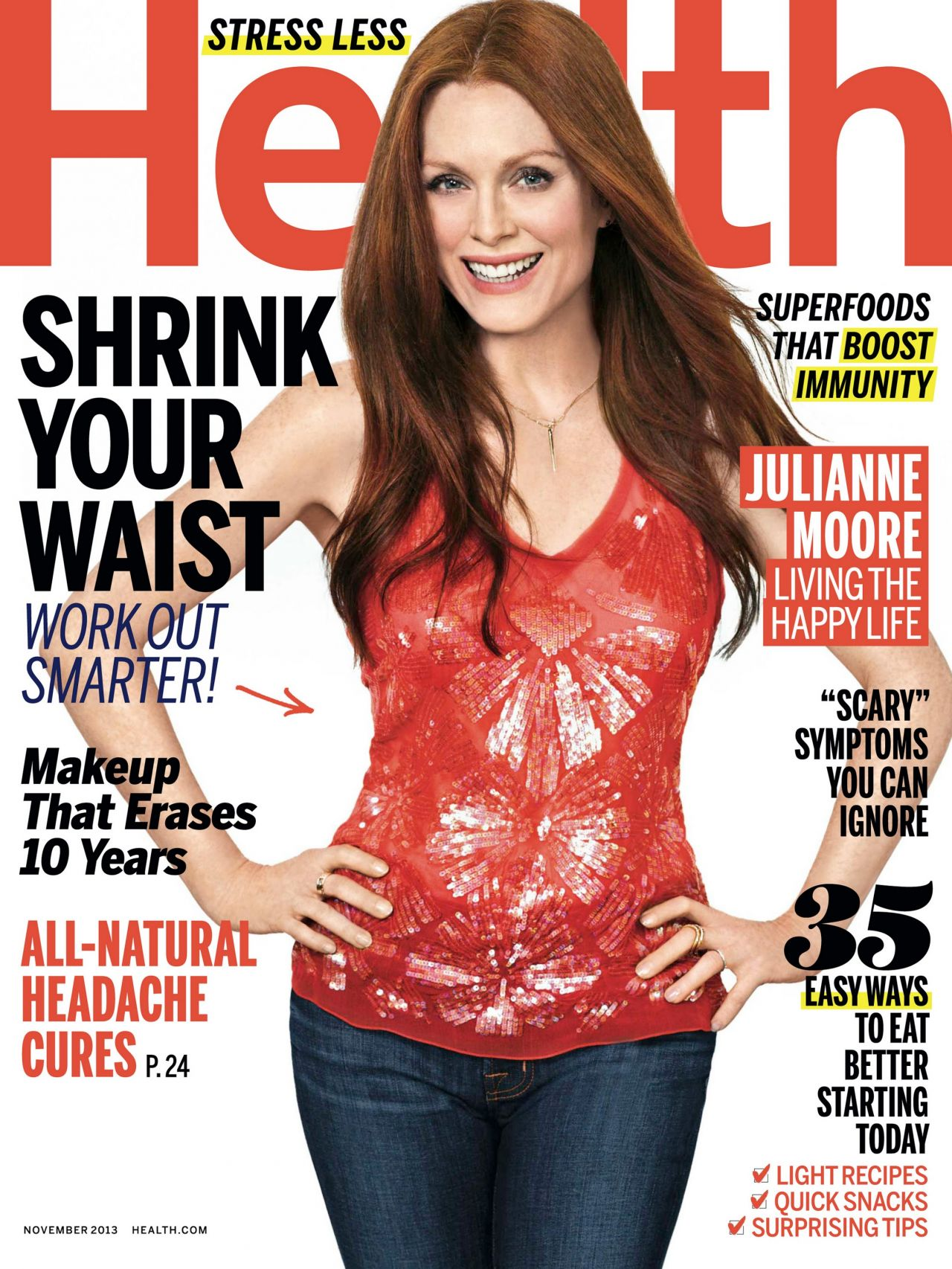 Julianne Moore - HEALTH Magazine - November 2013 Issue