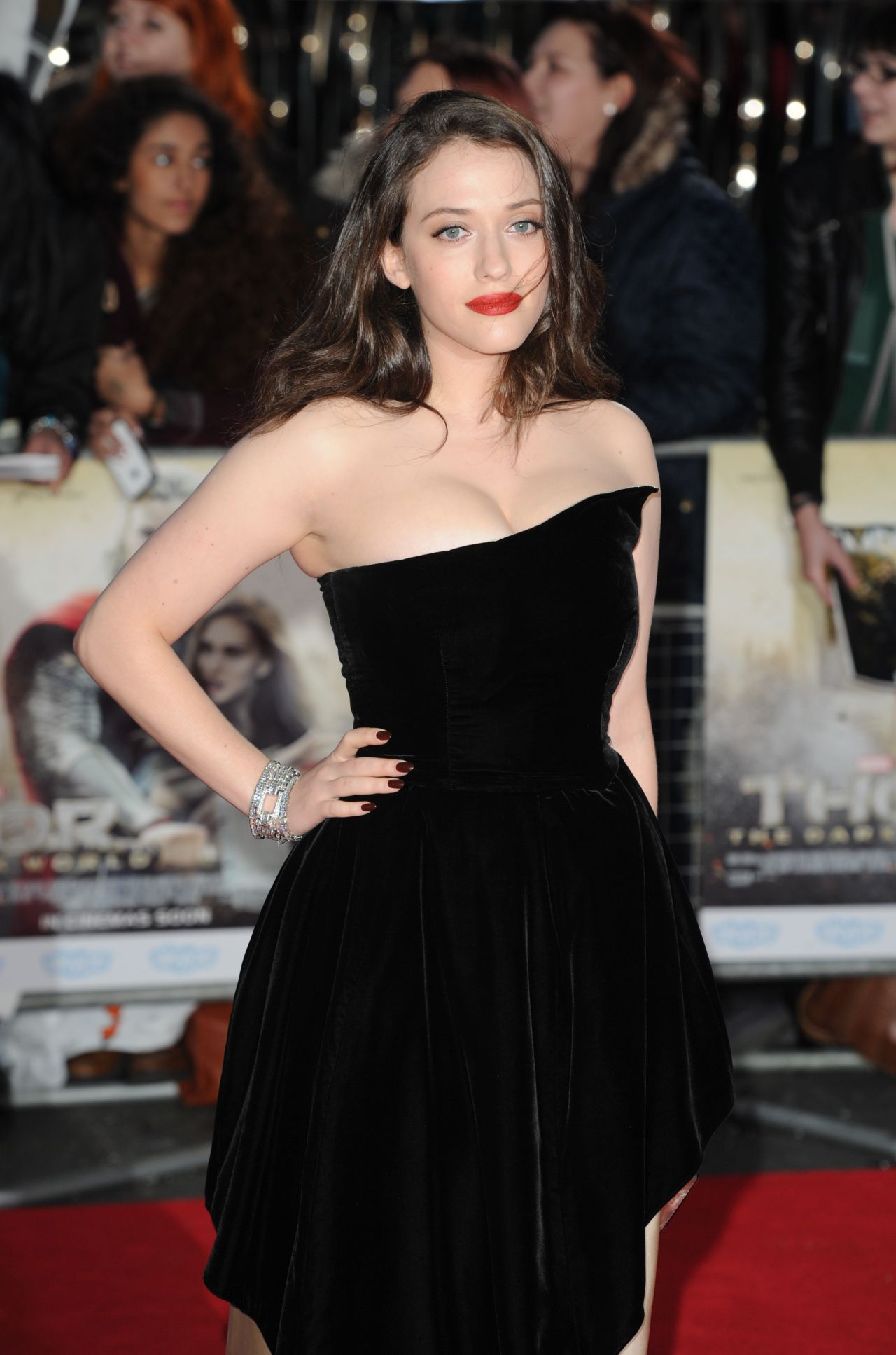 Kat Dennings - THOR: THE DARK WORLD Red Carpet in London