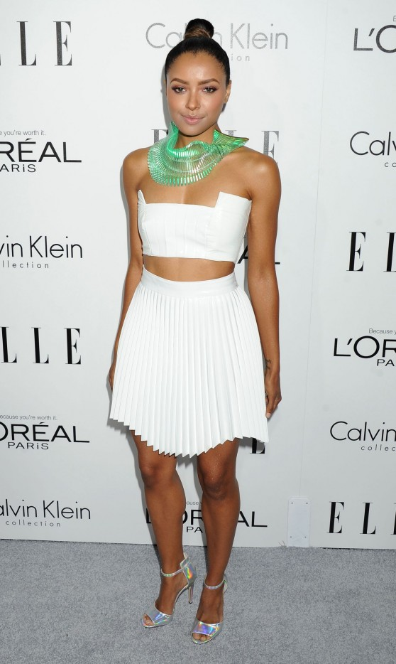 Kat Graham - ELLE's 20th Women In Hollywood Celebration in Beverly Hills, October 2013