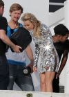 Kate Hudson - Leggy, in a Mirror Dress for a Photoshoot in Los Angeles