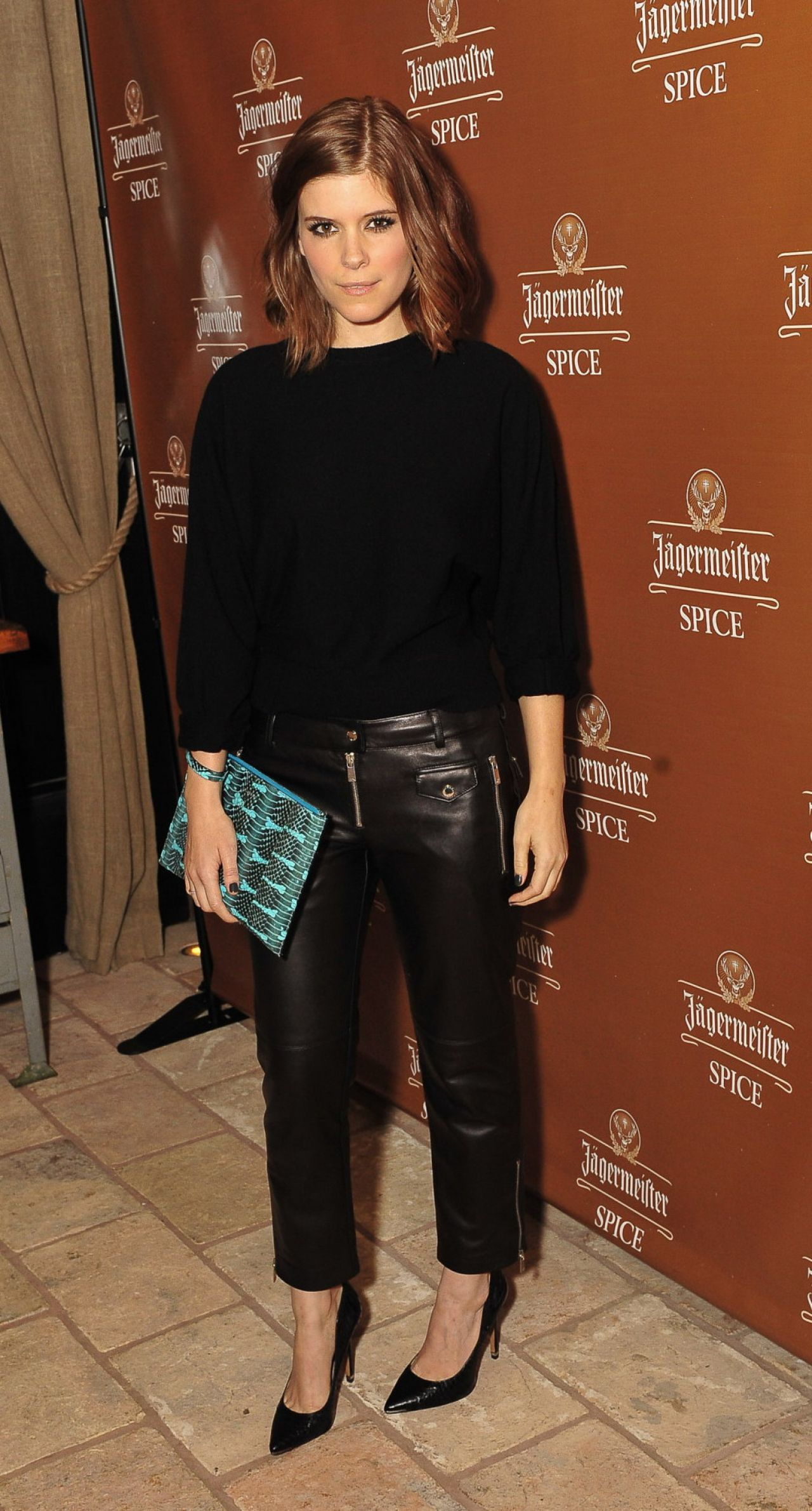 Kate Mara attends the Jagermeister Spice Launch in New York City.