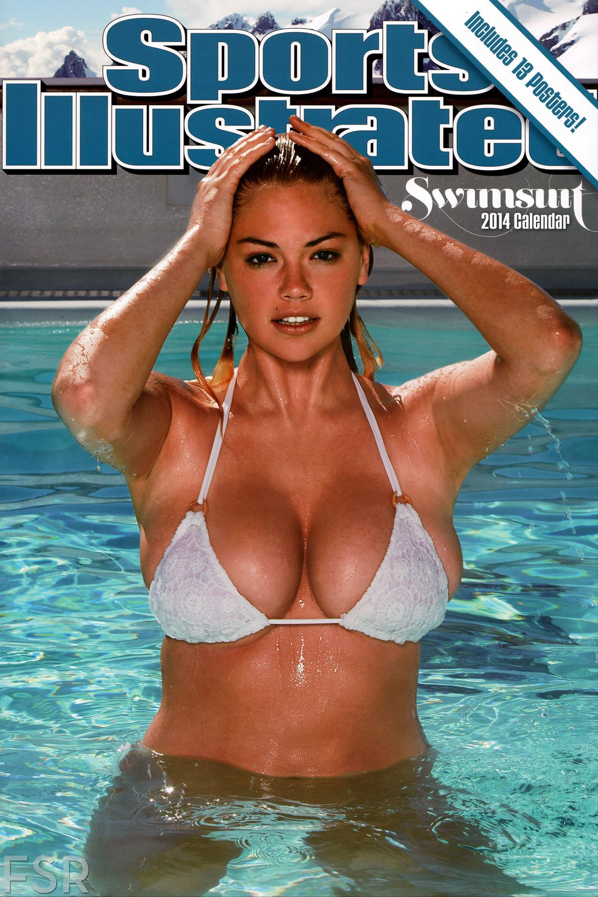 Kate Upton – Sports Illustrated Swimsuit Poster Calendar 2014