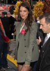 Katie Holmes Legs, ABC Studios in New York City