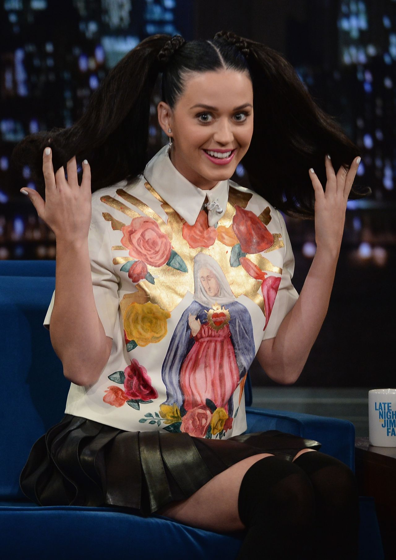 Katy Perry On Late Night With Jimmy Fallon