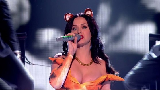 Katy Perry Performing ROAR On X Factor