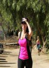 Kelly Brook Hiking in Los Angeles