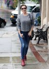 Kelly Brook in Jeans, Los Angeles