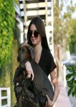 Kendall and Kylie Jenner Street Style- at Fred Segal in Los Angeles