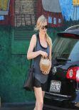 Kirsten Dunst Leggy in Los Angeles