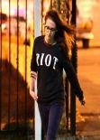 Kristen Stewart Street Style - Out in Los Angeles