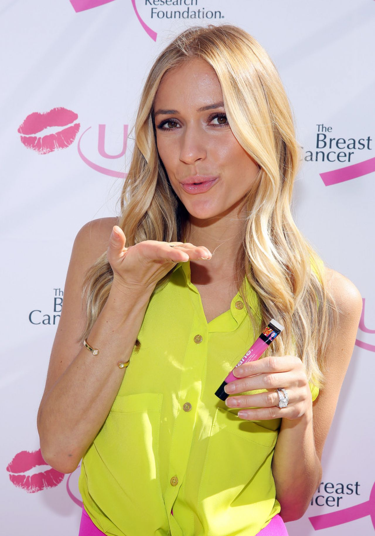 Kristin Cavallari Donates Kisses In Chicago