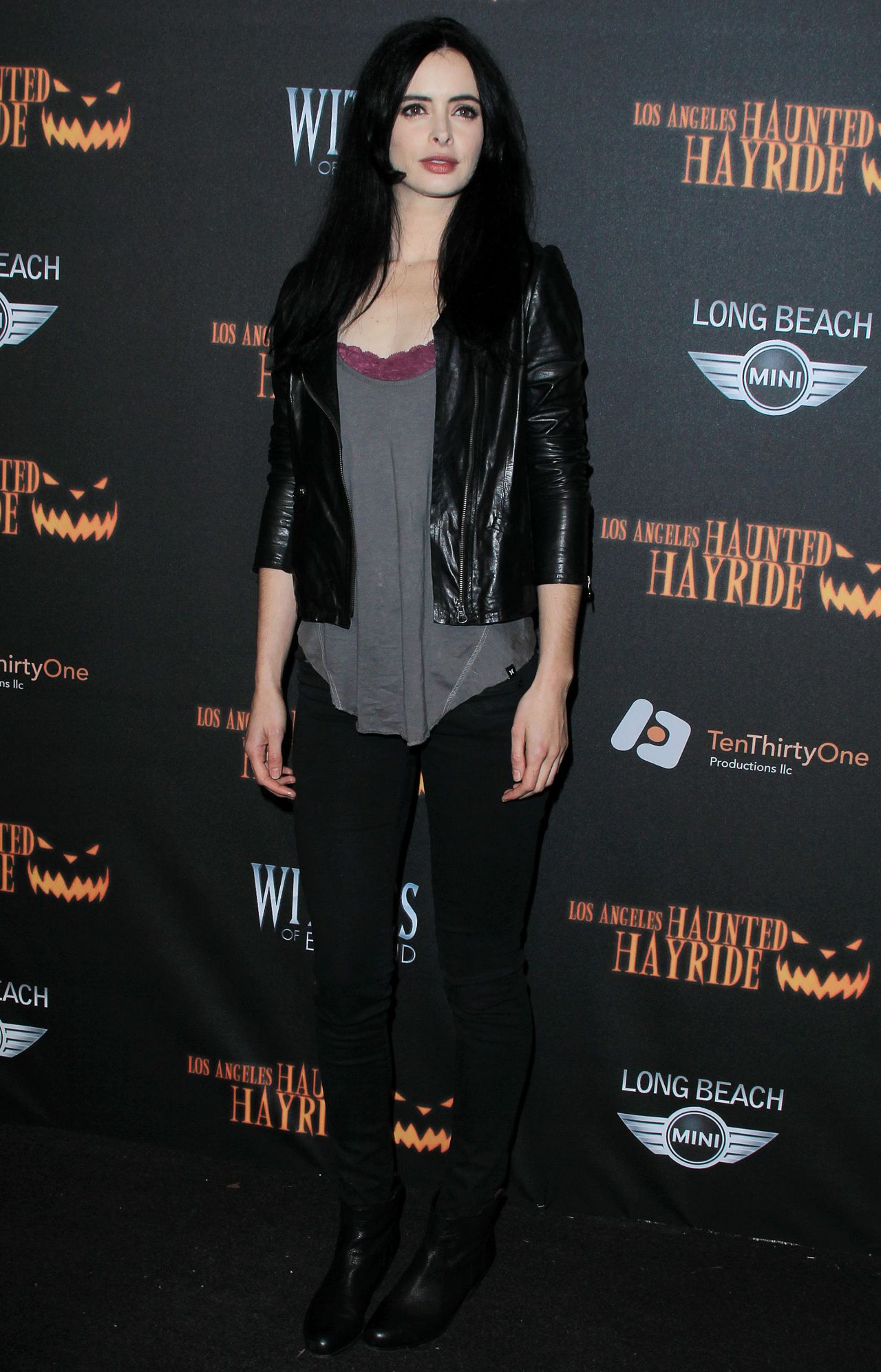 Krysten Ritter at 5th Annual Los Angeles Haunted Hayride in Los Angeles
