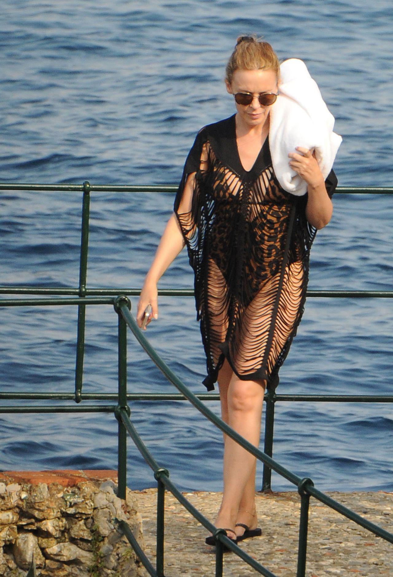 Kylie minogue and bikini