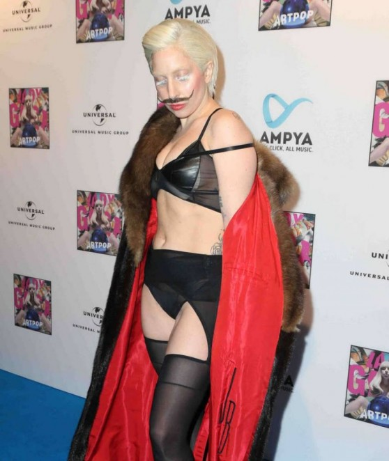 Lady Gaga Red Carpet Photos - Artpop Listening Party in Berlin - October 24th, 2013.