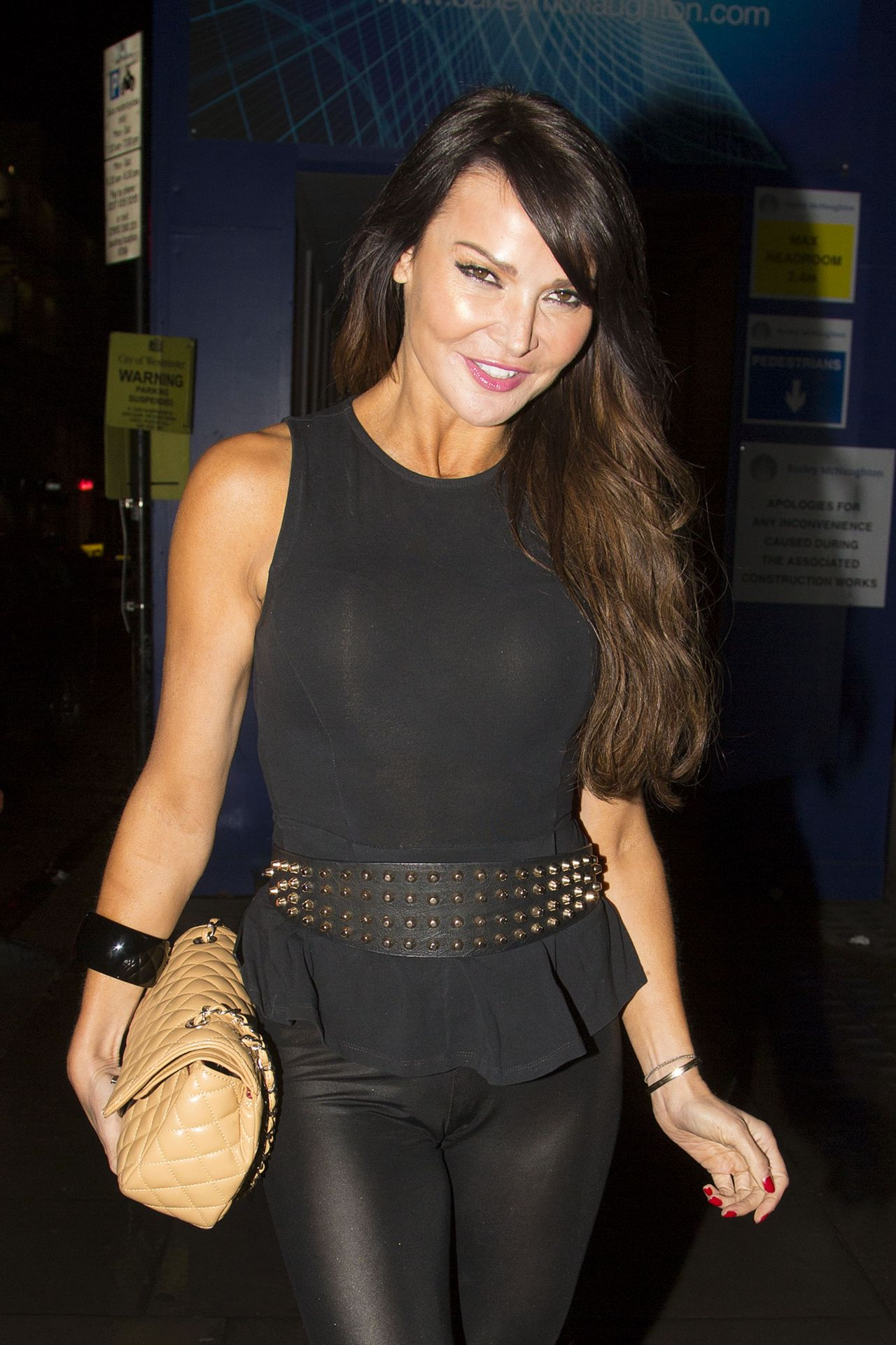 Lizzie Cundy In Tight Spandex - Sketch Halloween Party London-4816
