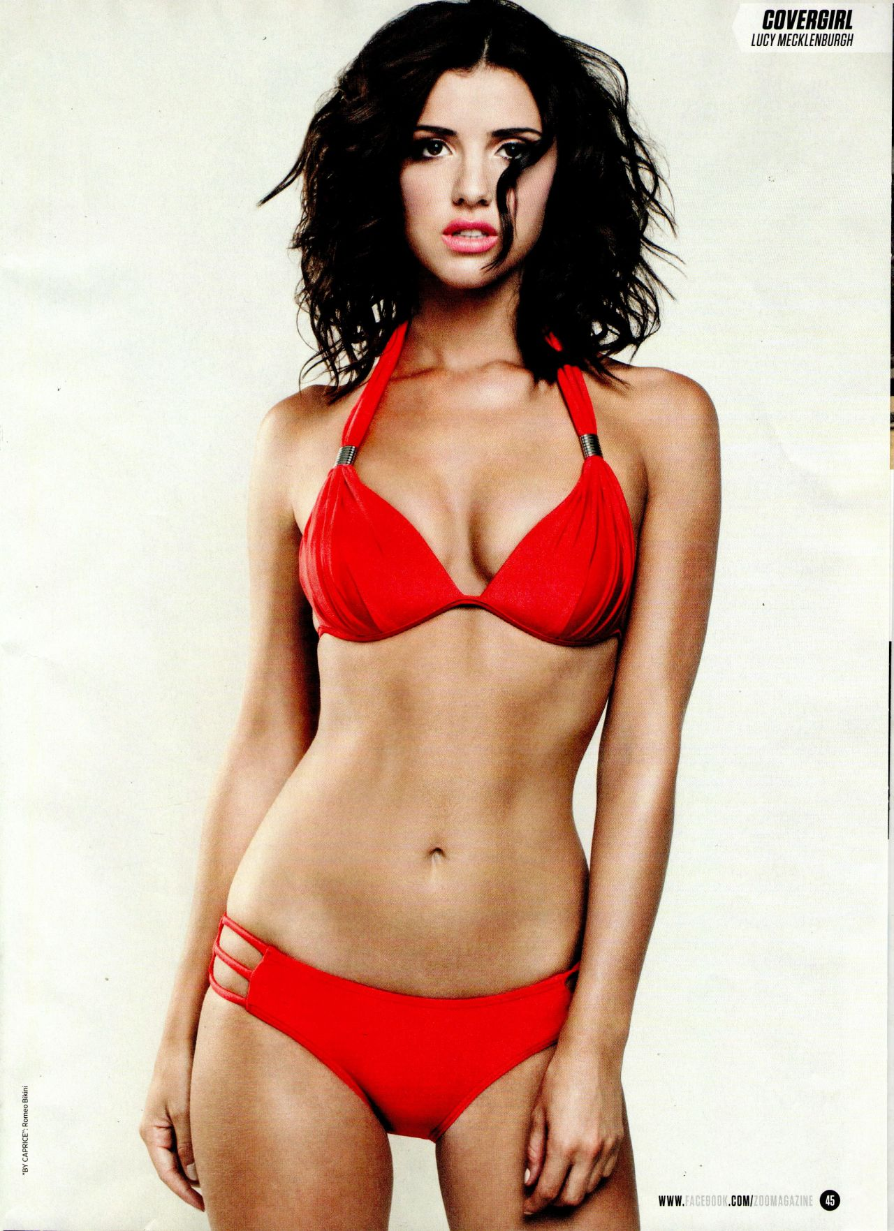 Lucy Mecklenburgh in ZOO Magazine