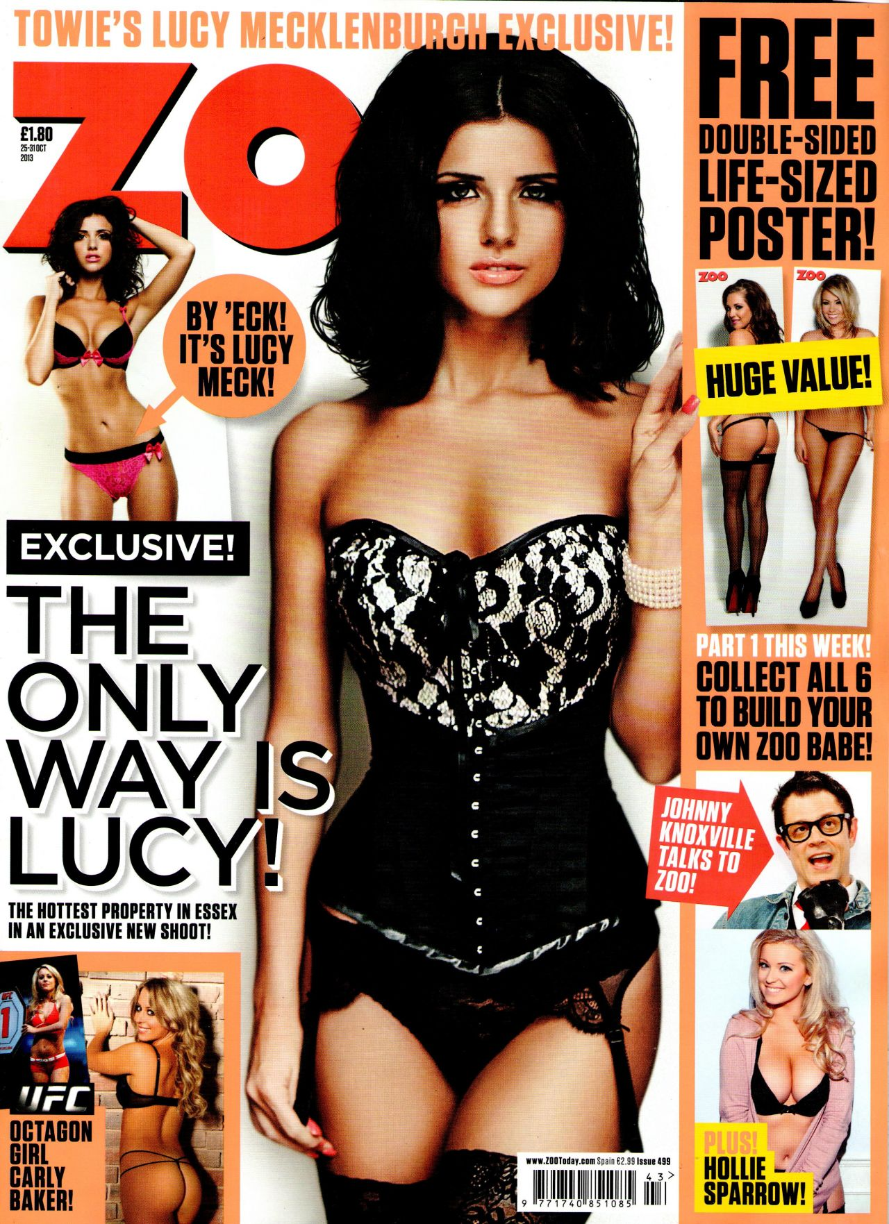 Lucy Mecklenburgh in ZOO Magazine - photo#31