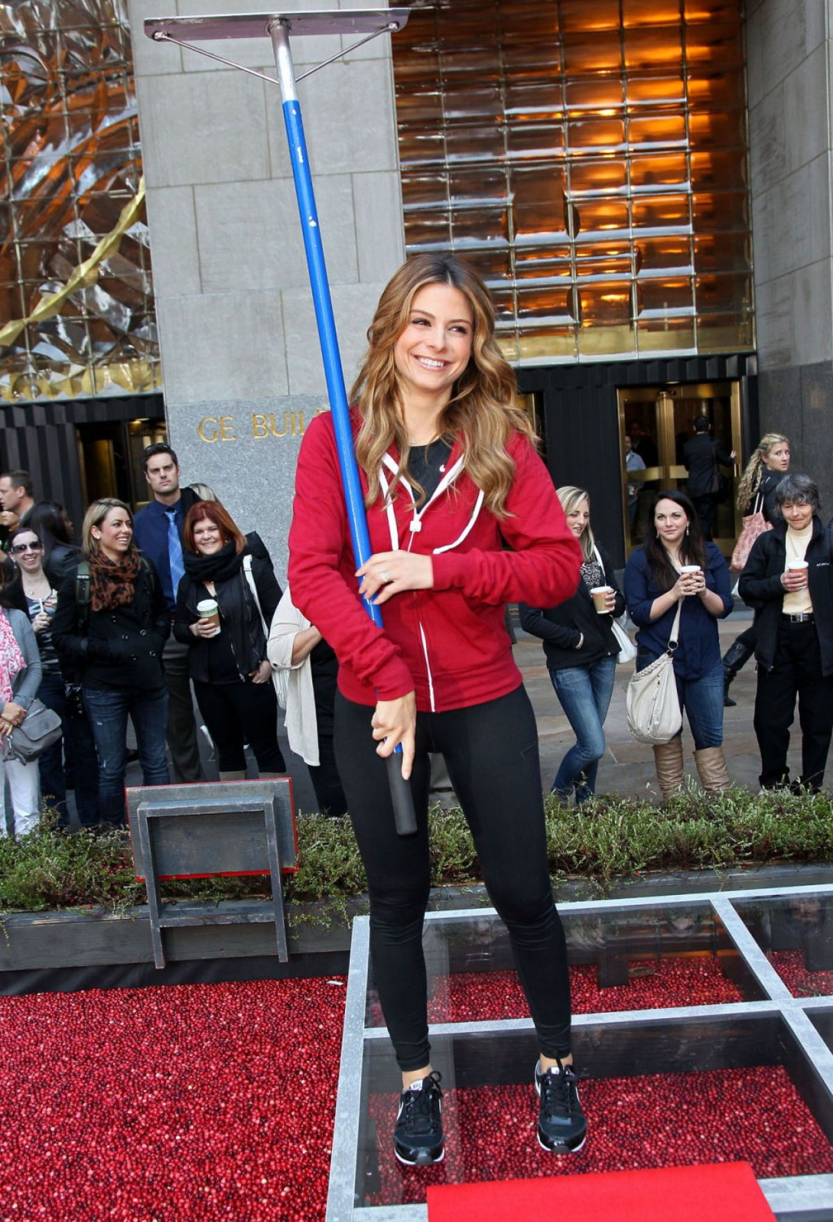 Maria Menounos Red Hot Secrets For Staying Healthy Event