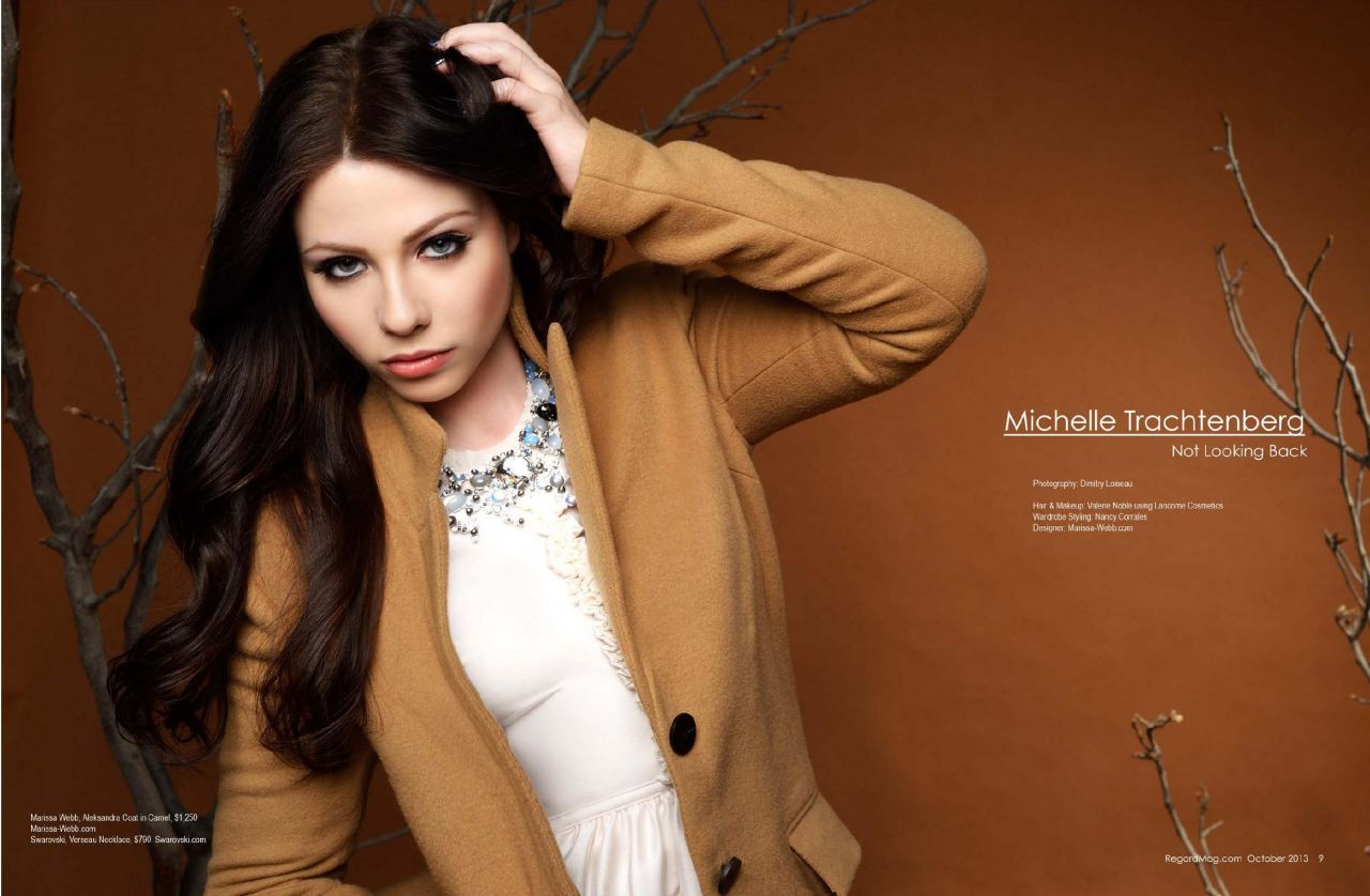 Michelle Trachtenberg in REGARD Magazine - October 2013 issue