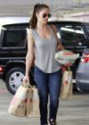 Minka Kelly - Grocery Shopping at Whole Foods in West Hollywood