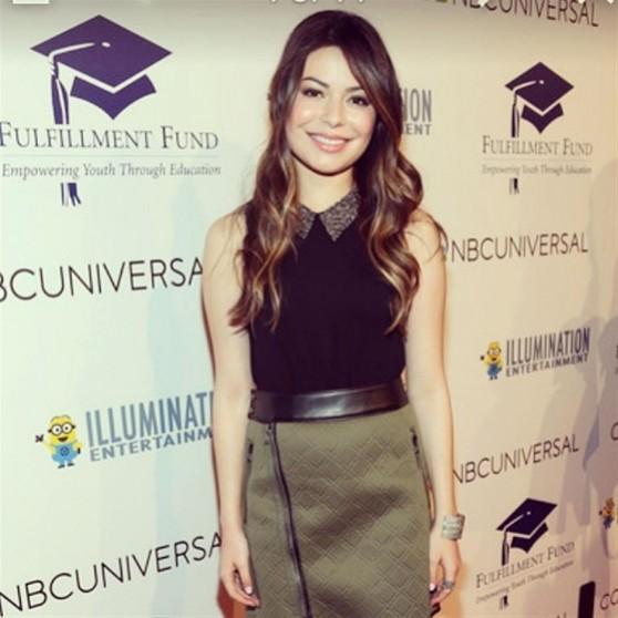 Miranda Cosgrove Stars Benefit Gala