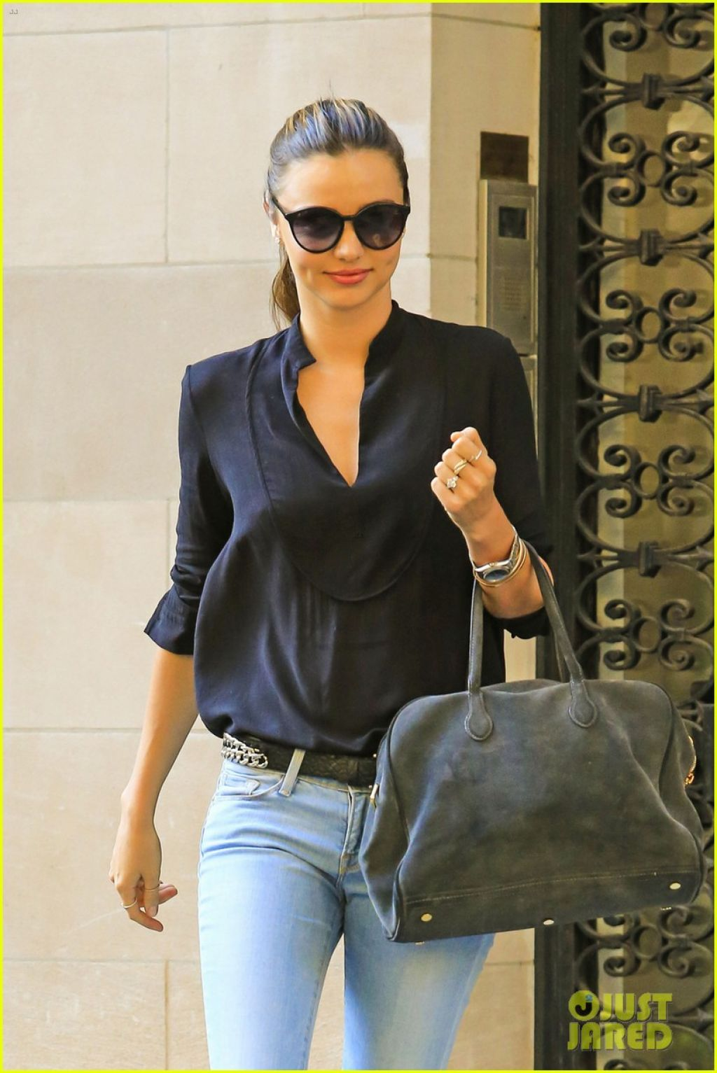 Miranda Kerr in Jeans - Out in New York City