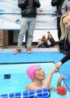 Nastia Liukin Swim For Sandy Relief Benefit - New York City