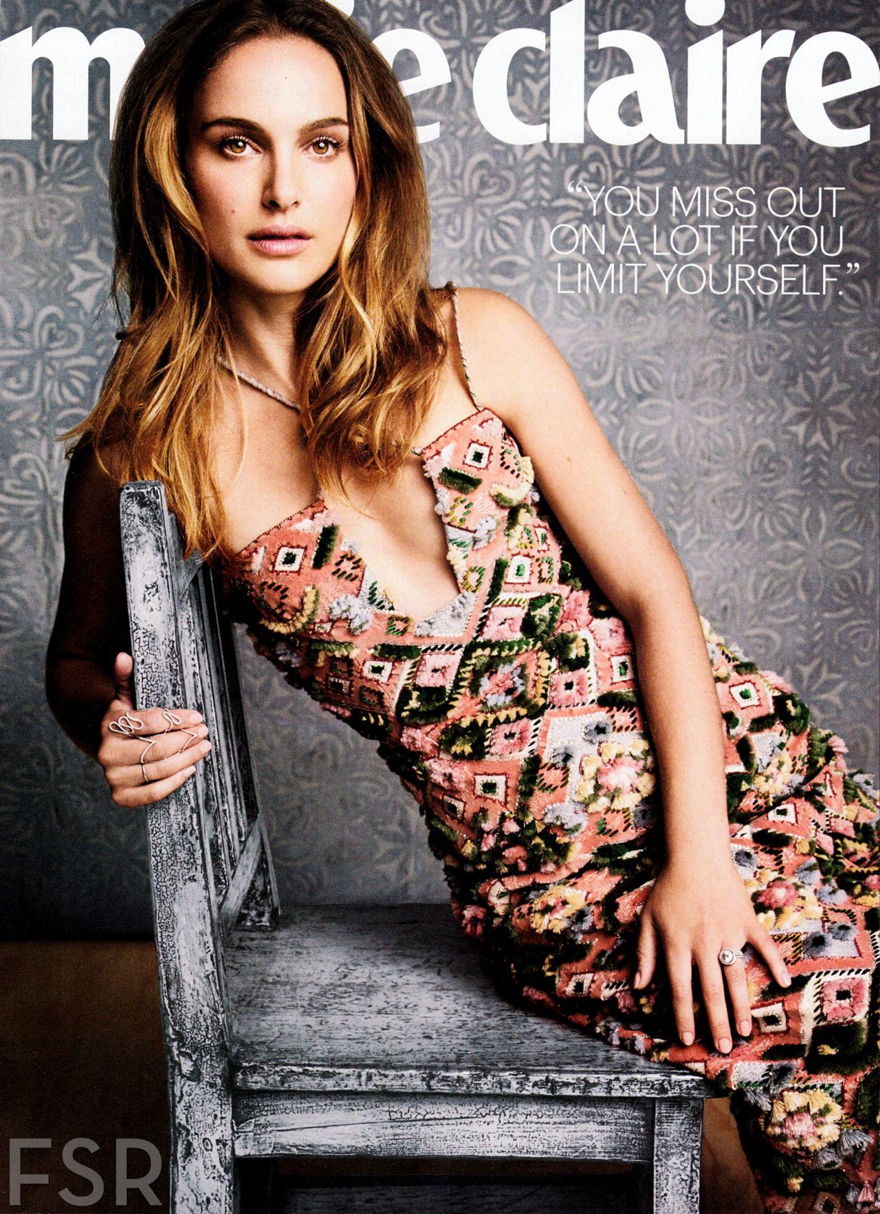 Natalie Portman in Marie Claire Magazine November 2013 Issue