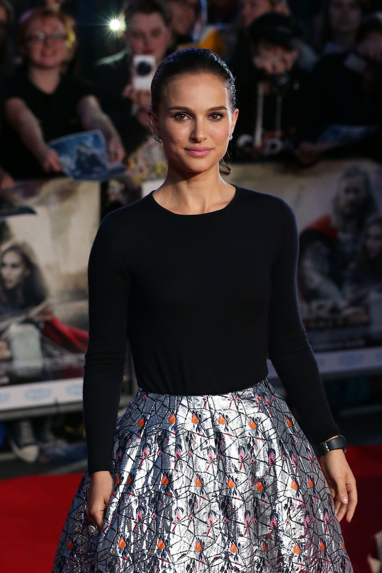 Natalie Portman - THOR: THE DARK WORLD Red Carpet in London