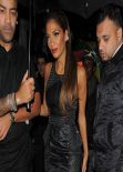 Nicole Scherzinger Photos - Leaving the Nobu Restaurant in Mayfair, London