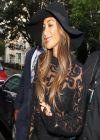 Nicole Scherzinger Street Style - in a Sheer Top