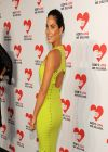 Olivia Munn in Citron Dress - God
