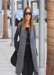 Olivia Wilde Street Style - Walking in Beverly Hills