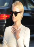 Pamela Anderson Debuts New Pixie Haircut