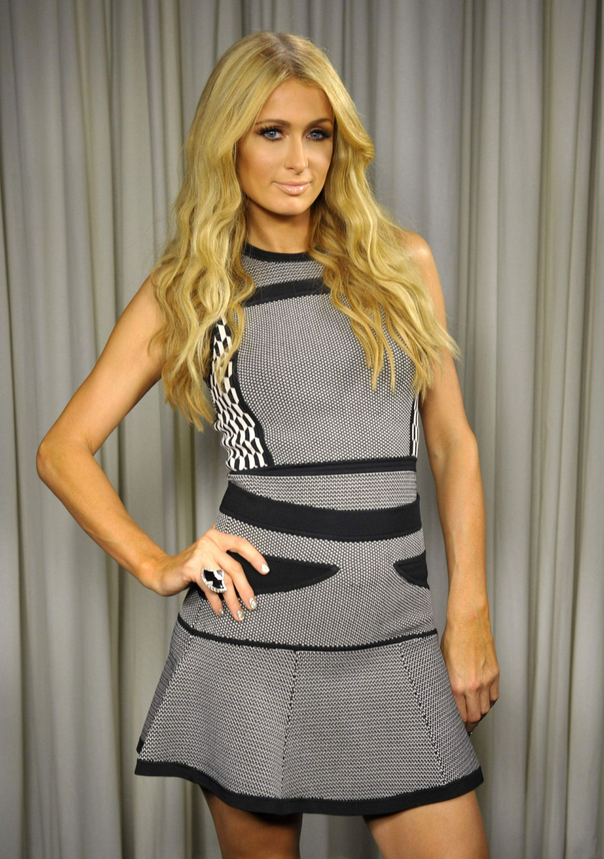 Paris Hilton Poses For a Portrait, Los Angeles October 2013