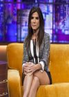 Sandra Bullock Shows Off Her Legs